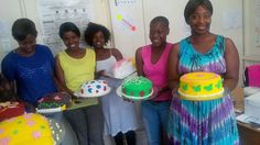 Final day Bake for Profit class. These ladies are ready to work in bakery's or start their own small business...