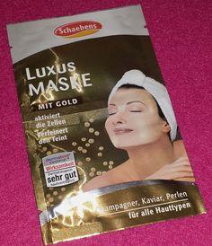Schaebens Luxus Maske mit Gold. Die ganze Produktpalette der Masken für verschiedene Hauttypen könnt Ihr HIER finden. Die Luxus Maske, aktiviert die Mikrozirkulation der Zellen und verfeinert den T...