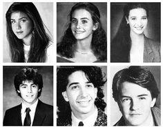 FRIENDS in high school. Someone please validate my feelings that Courtney Cox looks like Hermione here. @Rachel Kutz @Debbie Arruda Arruda Arruda Arruda Arruda Forster Clark