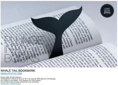 a whale of a tale! #marcadordelivro #bookmark
