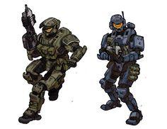 Halo Spartan Armor, Halo Armor, Halo Cosplay, Halo Pelican, Odst Halo, Fallout Concept Art, Sci Fi Miniatures, Halo Series, Halo Game