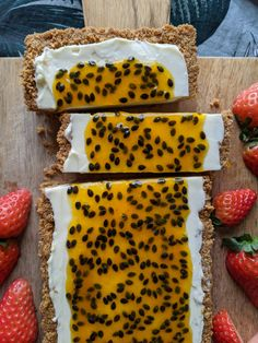 Passionfruit Cheesecake, Cheesecake Tarts, Gluten Free Cheesecake, Chocolate Cheesecake, Cheesecake Recipes, Tart Recipes, Baking Recipes, Dessert Recipes, Best Gluten Free Desserts