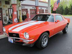 1970 Chevrolet Camaro coupe Z/28 350 cid 360 horsepower small block in Hugger Orange