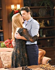 'Days of Our Lives' Spoilers Week Of Dec 26 to Rafe Explains Shocking Stefano Twist – Chad and Abigail Reconnect – Paul and Sonny Share a Kiss Seasons 52, Chad And Abby, Nbc Tv, Soap Opera Stars, Play N Go, Bad To The Bone, Days Of Our Lives, Daughter