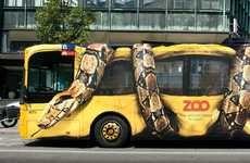 Snake Crushing Bus Ad