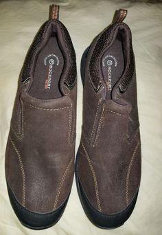 de4946fbc62 Men s Preowned K71536 Rockport XCS Kinetic Air Circulator Brown Shoes Size  10.5