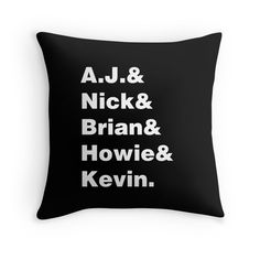 "Black Friday has landed. 35% off Hoodies & Sweatshirts. 20% off everything else. Use BLKFRIDAY | ""Backstreet - Black Background"" Throw Pillows by Juliana Oliveira 
