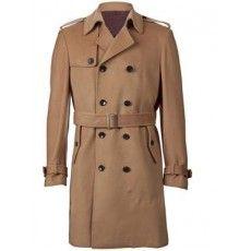 Mens Elegant Classic Overcoat - Jeanz T