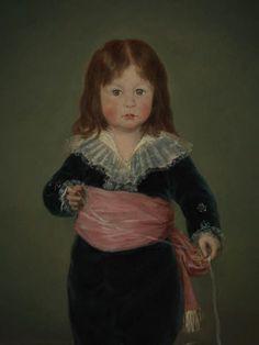 Portrait de Luis María de Cistué y Martínez de Francisco de Goya y Lucientes. Département des Peintures / Department of Paintings. © Musée du Louvre, dist. RMN / Philippe Fuzeau http://cartelfr.louvre.fr/cartelfr/visite?srv=car_not_frame&idNotice=29944&langue=fr