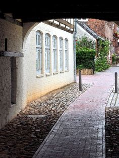 'Glückstadt - Untergang' von Dirk h. Wendt bei artflakes.com als Poster oder Kunstdruck $18.03