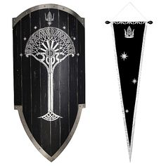 Lord of the Rings Second Age Gondorian Shield Replica - United Cutlery - Hobbit / Lord of the Rings - Prop Replicas at Entertainment Earth