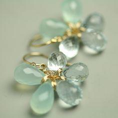 Aqua Fleur | Fluss Jewelry