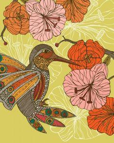 Retro Flowers Mural - Valentina Ramos  Murals Your Way
