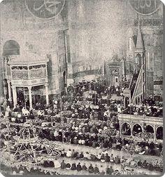 1860 -1890 Ayasofya,nın ibadete açık olduğu yıllar