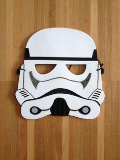 Star Wars Maske aus Moosgummi