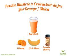 Recipe at the juice extractor for a delicious melon / orange juice. The fruits should be peeled and cut into cubes: do not pass pips or hard skin in your device. Detox Juice Recipes, Juice Cleanse, Detox Drinks, Detox Juices, Juice Extractor, Healthy Breakfast Smoothies, Greens Recipe, Orange Juice, Nutrition
