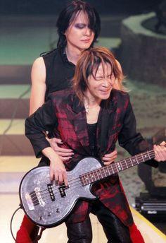 ユータさん、がんばwww 櫻井さん、ユータさん可愛がるよね  BUCK-TICK 櫻井敦司 樋口豊