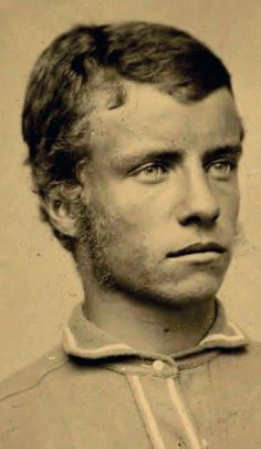21-year-old Theodore Roosevelt, one of many of young Roosevelt we have at MDB. Here we have him with bushier mutton chops. Here we have him not wearing a shirt. Enjoy. Submitted by Alaina