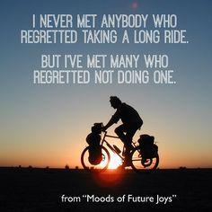 Instagram account of Alastair Humphreys bike traveler