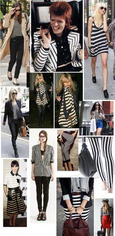 Black & White Stripes <3