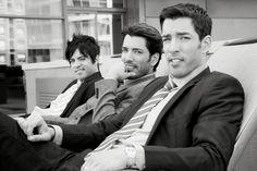 Jonathan, Drew e JD Scott