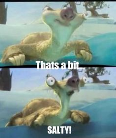 Ice Age - continental drift :) favorite line. sid is my absolute favorite character. he's so funny Ice Age Quotes, Fun Quotes, Quotable Quotes, Funny Animal Memes, Funny Memes, Jokes, Hilarious, Ice Age Funny, Ice Age Sid
