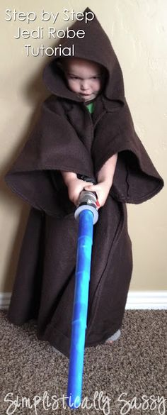 Easy Jedi Robe Tutorial by Simplistically Sassy