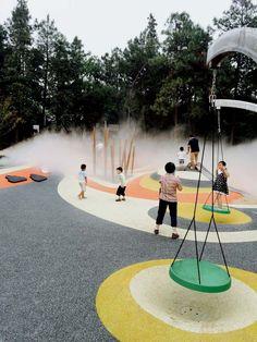 AVIC Park, Hongdu Nanchang, by YIYU design «  Landscape Architecture Works   Landezine  #landscapingarchitecture
