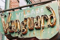 The old Village Vanguard in lower Manhattan's West Village.  For 70 years, this place has been at the center of the jazz universe.