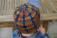 by annika72, Kate Gilbert's syncopated Cap available through Interweave.