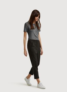 Women's Pants & Shorts: Cropped, Ponte, Wide Leg Pants & More | Kit and Ace