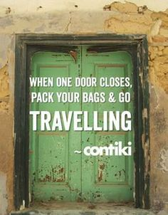 Pack your bags @Contiki