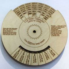 how to make perpetual calendar - Google Search