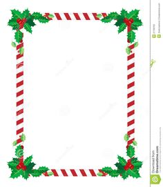 christmas flyer borders template christmas pinterest border