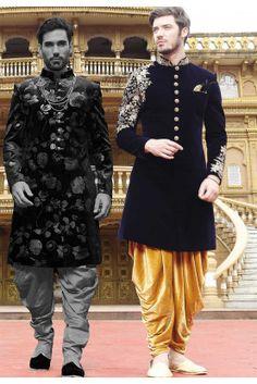 Blue Colour Designer Indowestern,indowestern for men Sherwani Groom, Mens Sherwani, Wedding Sherwani, Kurta Men, Boys Kurta, Punjabi Wedding, Designer Salwar Kameez, Designer Suits For Men, Indian Designer Suits