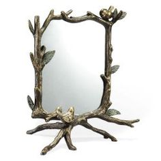 Show Mom how beautiful she is with this Leaf & Branch Table Mirror - it's never too early to shop!