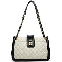 ANA LUBLIN Women Lamb Leather Fashion Handbag Quilting Lady Purse Crossbody Shoulder Bag White - About ANA LUBLIN Our brand is focusing on offering top grade classical fashion genuine leather handbags. We are the manufacturer which is specialized in genuine leather products for men and women, including wallets, purses, backpacks, handbags, clutch bags, briefcase and messenger bags etc. We ha...