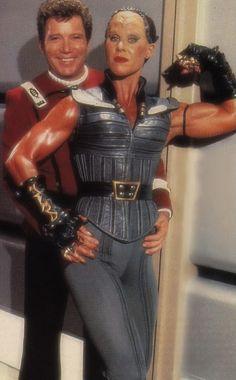 Kirk and the Klingon #startrek #shatner