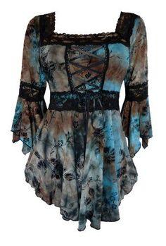 Fashion Bug Dare To Wear Victorian Gothic Renaissance Corset Top Plus Size. www.fashionbug.us