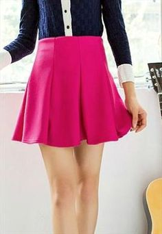 Sexy Pleated  Skirt