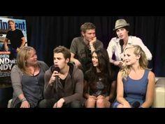 Comic-Con 2011 - The Vampire Diaries interview