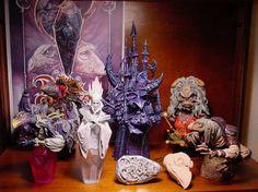 The Dark Crystal - Statues - Figures - Mystics - Skeksis - Aughra - Jim Henson - Puppets #movies
