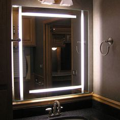 73 best led mirrors images on pinterest led mirror bathroom bathroom mesmerizing stainless steel bathroom mirror with lighting and bathroom vanity mirror lights beautiful contemporary bathroom mirrors aloadofball Images