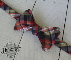 794cb55597df Items similar to Multi Plaid Bow Tie~Mens Self Tie Bow Tie~Mens  Pre-Tied~Anniversary Gift~Wedding Tie~HoBo Ties~Cotton Bow Tie~Wedding~Navy~Pendleton  Style ...