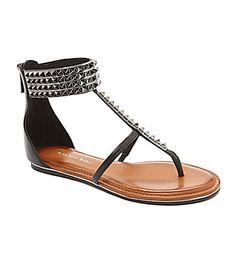 Gianni Bini Rebbel Flat Sandals. Only $28 !! [ Waterbabiesbikini.com ] #fashion #bikini #elegance