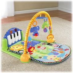 Check out the Fisher-Price Discover 'n Grow™ Kick & Play Piano Gym from BabyAge.com!