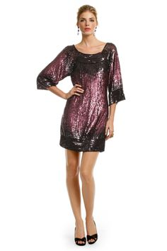 Cabernet Sequin Kiss Dress by Mark & James by Badgley Mischka for $30 | Rent The Runway