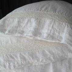 LINEN DUVET COVER set of duvet cover and pillowcases by mooshop