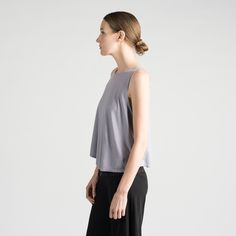 Sense Clothing baggy tank. made in the USA