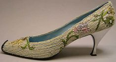 Roger Vivier-evening shoes-House of Dior;1958.